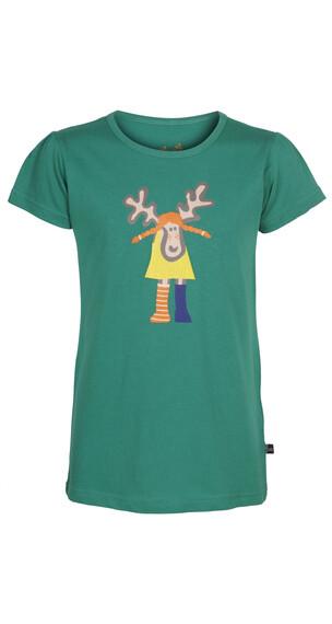 Elkline Kurzesocke T-Shirt Mädchen green